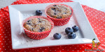 Blueberry-Cocos-Muffins with a pinch of cardamom