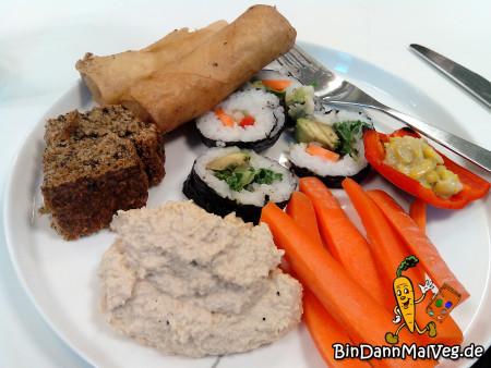 Food at the Dyrebeskyttelsen potluck