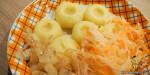 Kluski śląskie – Silesian dumplings