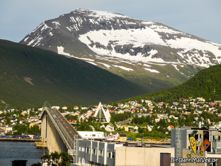 Tromsdalen (part of Tromsø with the Ice Cathedral & the mountains)