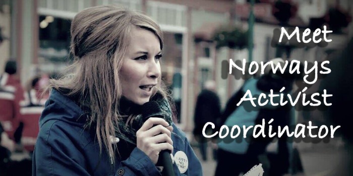 Meet Norways Vegan Activist Coordinator (NOAH)