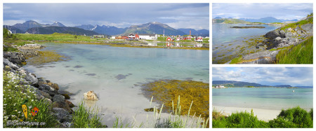 Beaches in Sommarøy/Norway